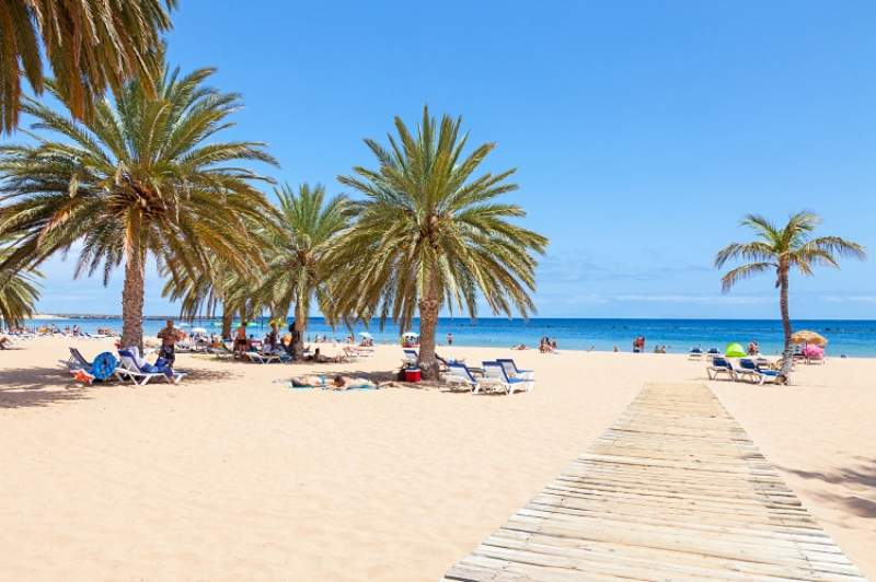 spiaggia tenerife