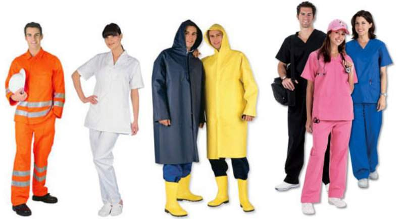 indumenti da lavoro